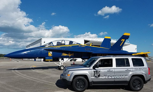 Event Security Firm Charleston SC - Blue Angels